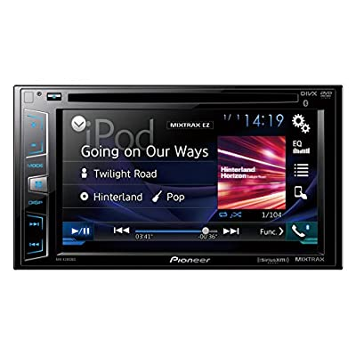 "Pioneer AVH-X2800BS In-Dash DVD Receiver with 6.2"" Display, Bluetooth, SiriusXM-Ready (Discontinued by Manufacturer): Car Electronics"