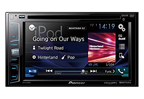 Amazon Com Pioneer Avh X2800bs In Dash Dvd Receiver With 6 2