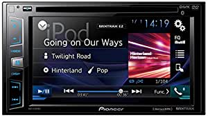 """Pioneer In-Dash DVD Receiver with 6.2"""" Display, Bluetooth, SiriusXM-Ready"""