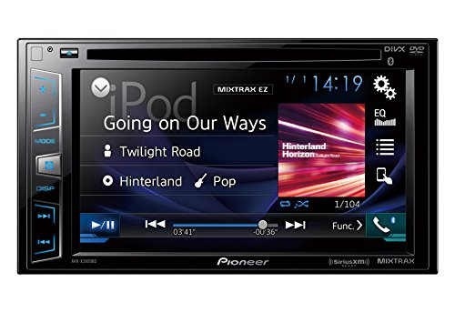 Rodeo Manual Mirror - Pioneer AVH-X2800BS In-Dash DVD Receiver with 6.2