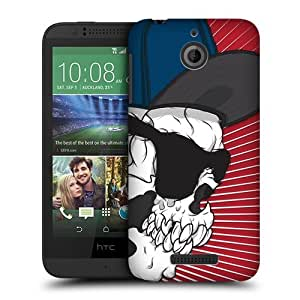 Head Case Designs Swagger Guy Skull Showdown Protective Snap-on Hard Back Case Cover for HTC Desire 510 by ruishername