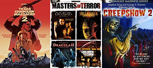 The Buzz is Back (Sequel Mega DVD Bundle): The Texas Chainsaw Massacre Part 2 & Creepshow 2 & Halloween H20/ Hellraiser: Inferno/ Dracula 2 / Children of the Corn Fields of Terror 6 Feature Films