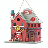 Fire Station Birdhouse For Sale