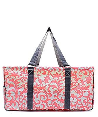 """N. Gil All Purpose Open Top 23"""" Classic Extra Large Utility Tote Bag 2"""