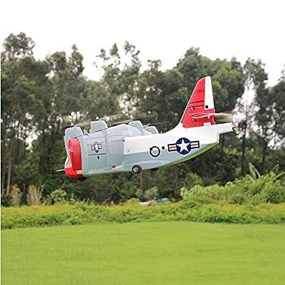Unique Models LTV XC-142 Tilt-wing Experimental RC Aircraft Airplane PNP