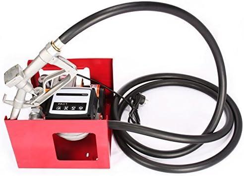 Pompe Aspiration Huile 40 L//min Pompes /à Carburant Auto-Aspirant avec D/ébitm/ètre VEVOR Pompe /à Huile Automatique 220 V Moteur Puissant Pompe de Transfert Diesel /Électrique Essence Fuel
