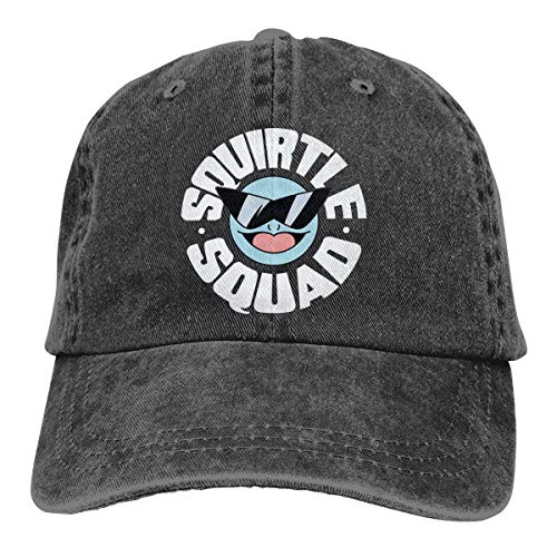 Baby Ying Squirtle Squad Summer Cool Heat Shield Unisex Adult Cowboy Hat Black