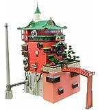 さんけい みにちゅあーとキット スタジオジブリシリーズ 千と千尋の神隠し 油屋 1/150スケール ペーパークラフト MK07-10