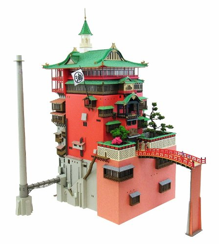 Spirited Away: Aburaya (Bathhouse) MK07-10 (Assembly Paper Craft)