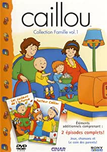 Amazon.com: Caillou Family Collection Volume 1 (French ...Caillou Family Collection