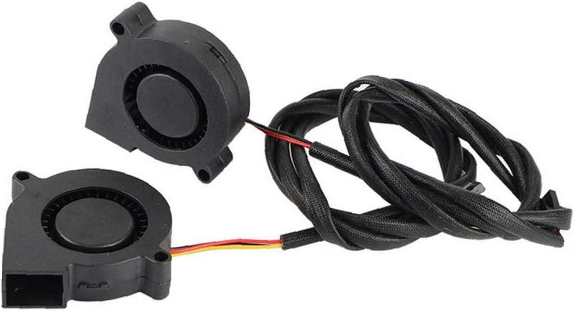 Romote Prusa I3 Mk3 K/ühlgebl/äse Fan Hydraulische Lager 5015 5v Leisem Auspuff Turbo-Ventilator F/ür 3D-drucker