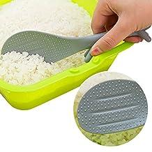 2Pcs Durable Novelty Plastic Squirrel Non-stick Scoop Rice Spoon Rest Kitchen Spatula
