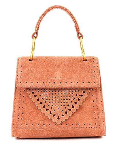 B14 Small Suede Argile Lace Coccinelle Handbag twBd8Mq