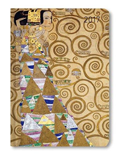 Ladytimer Klimt 2017 - Taschenplaner / Taschenkalender A6 - Weekly - 192 Seiten