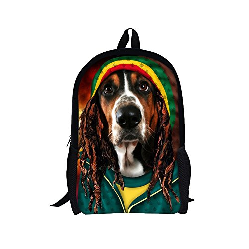TOREEP Casual Personalized Canvas Kids Grade Bookbag Preschool Backpack