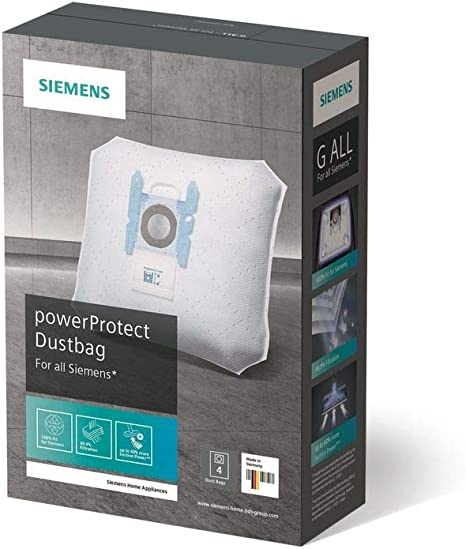 Siemens VZ41FGALL - Bolsas de recambio para aspiradoras, 4 ...