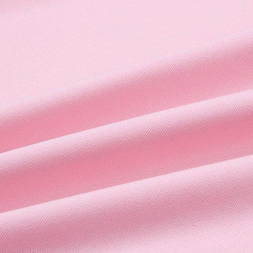 Blouse Uni Femme Sans Printemps Tunique Casual Tops Manche Stretch Et T Lisli Dbardeur Shirt Mode Loose Rose Asymtrique xgwf8q1Y1