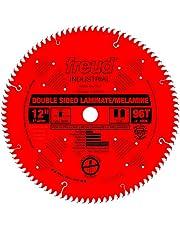 Freud LU97R012 Industrial Double Sided Laminate & Melamine Saw Blade 12-Inch x 96t TCG 1 inch arbor Perma-Shield Coated