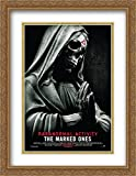 Paranormal Activity The Marked Ones 28x36 Double Matted Large Gold Ornate Framed Movie Poster Art Print
