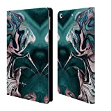 Official Nature Magick Teal Luxe Gold Marble Metallic Leather Book Wallet Case Cover Compatible for iPad Mini 4