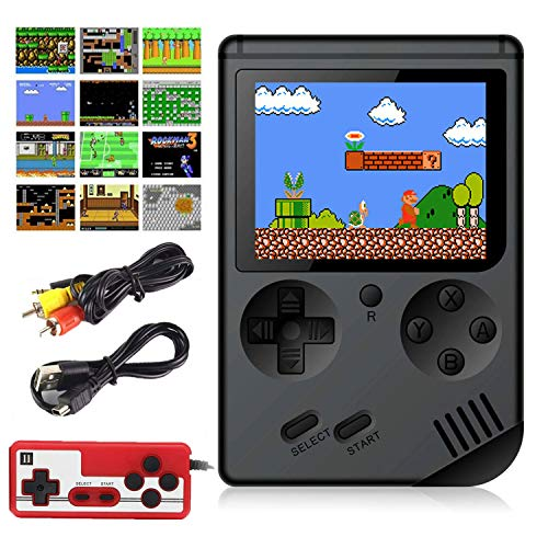 Aisallin Retro FC Handheld Game Console with 400 Classic Games for Kids Adult, 3 Inch HD Screen FC Video Game Console…