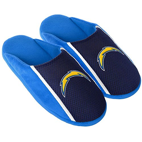 FOCO NFL San Diego Chargers Unisex 2016 Jersey Slide Slipper Small