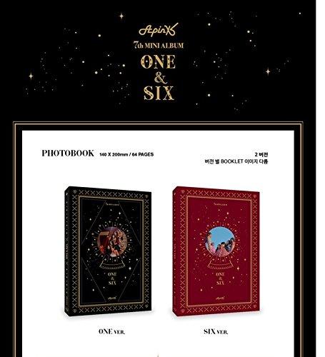 APINK [ONE&SIX] 7th Mini Album Random CD+Poster+Photobook+PhotoCard+Tracking Number K-POP SEALED