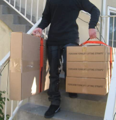 Forearm Forklift Moving Straps included complete for a Studio or 1 bedroom Moving Kit