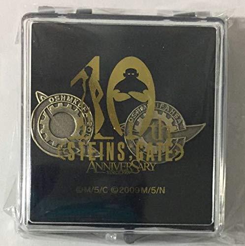 C95 5pb STEINS;GATE 復刻 ラボメンピンバッジセット(2個入り) 10周年ロゴバージョン コミックマーケット95 シュタインズゲート   B07SN59JK1