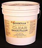 CLEAR water based grain filler Gallon