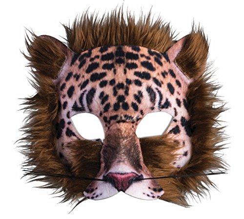 Forum Novelties 3D Print Costume Half Mask: (Costumes Leopard)