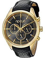 Rip Curl Womens A2760G-GOL Bailey Chrono Analog Display Analog Quartz Black Watch