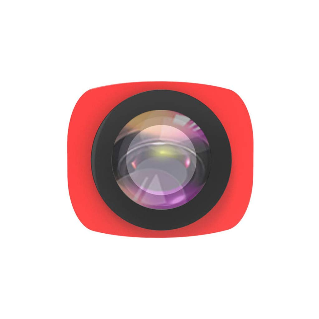 Camera Filter For DJI OSMO Pocket 3 in1 CR Wide Angle + 12.5X + CPL PTZ Camera 3pc Lens Filters Aluminum-alloy Helicopter Accessories (red)