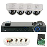 GW Security 1080P HD-CVI 4 Channel Video Security Camera System – Four 2MP Weatherproof 2.8-12mm Varifocal Zoom Dome Cameras, 30-IR LED 80ft Night Vision, Long Distance Transmit Range (984ft), Pre-Installed 1TB HDD Review