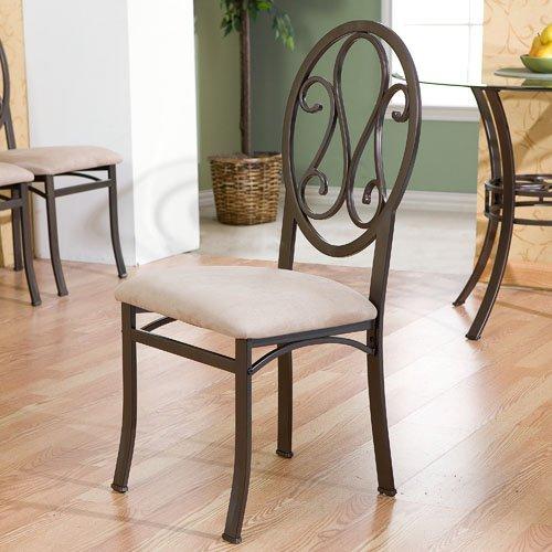 SEI Lucianna 4-Piece Upholstered Chair Set