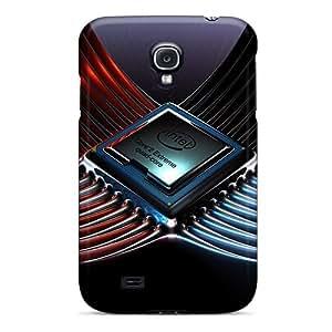 LatonyaSBlack Galaxy S4 Hybrid Tpu Case Cover Silicon Bumper Intel Core 2 Extreme Quad Core