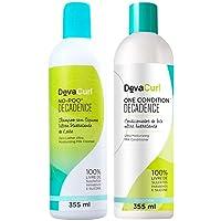 Deva Curl Decadence Duo Kit Shampoo No Poo (355ml) e Condicionador One (355ml)