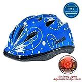 GASACIODS Kids Child Adjustable Safety Helmet for Scooter Skateboard Rollerblading Inlineskating Cycling Bike...