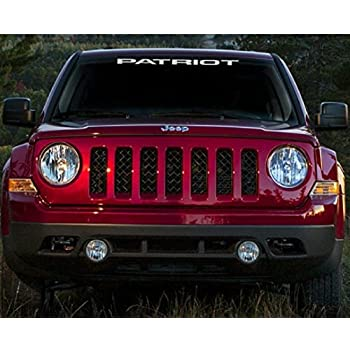 Amazon Com Jis Decals Generic Jeep Patriot Windshield Decal Silver