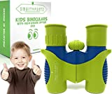 SmartyPantz Binoculars For Kids by w/ HD 8x21 Optics - Waterproof
