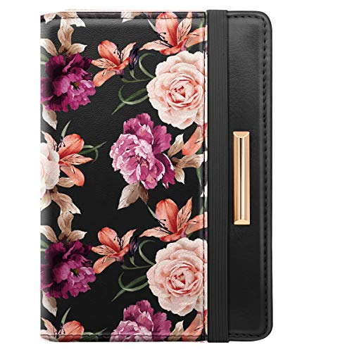Coco Rossi Passport Holder With Elastic Band For Women