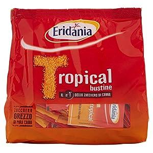 Eridania Zucchero Bruno Tropical Bustine - 500 grammi [10 confezioni - 5kg]