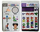 "SchKIDules Visual Schedules ""79 Pc Special Ed Combo Pack"" w/60 Special Education Themed Activity Magnets PLUS 19 Headings Magnets"