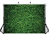 AIIKES 7x5ftNature green leaf background photography grass picture background birthday party ground decoration outdoor theme newborn baby bride shower wedding photo booth background11-558