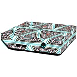 MightySkins Skin For Alienware Steam Machine - Aztec Pyramids | Protective, Durable, and Unique Vinyl Decal wrap cover | Easy To Apply, Remove, and Change Styles | Made in the USA