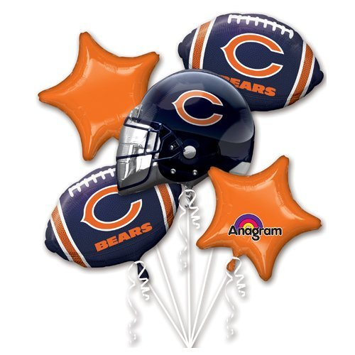 Anagram 31399 Chicago Bears Balloon Bouquet -