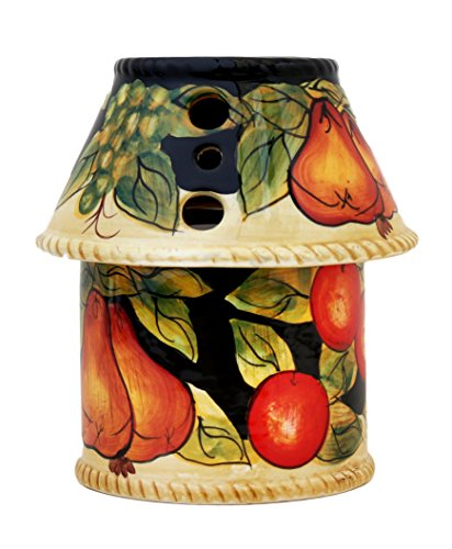 - Casa Cortes Barcelona Collection Hand-Painted (#60 CANDLE JAR HOLDER)