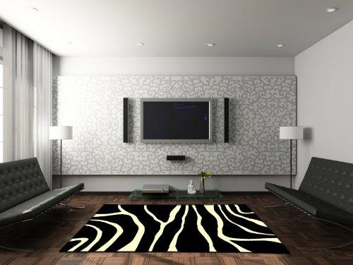 Velours Orient Design Teppich Zebra like, Größe:120x170