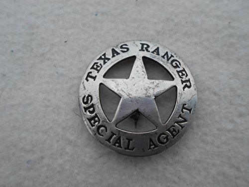 Costume Badge Texas Ranger Special Agent Old West
