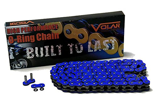 525 O-ring - 525 x 116 Links O-Ring Motorcycle Chain - Blue